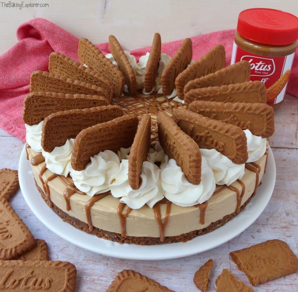 Biscoff Cheesecake (No Bake)