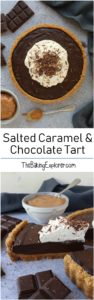 Salted Caramel & Chocolate Tart