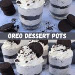 Oreo Dessert Pots