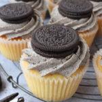 Vanilla Oreo Cupcakes
