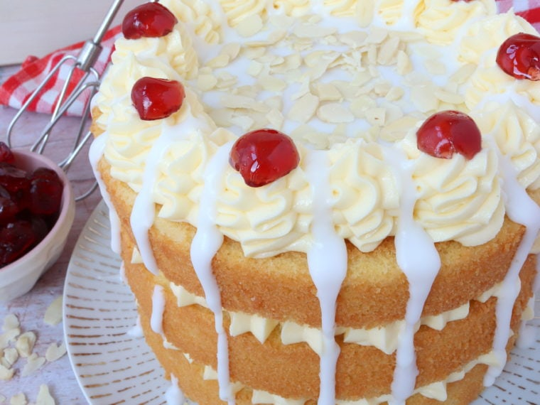 Cherry Bakewell Cake (ad)