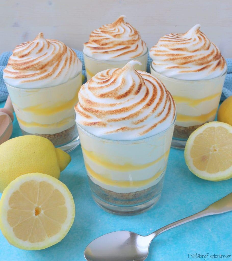 Lemon Meringue Dessert Pots