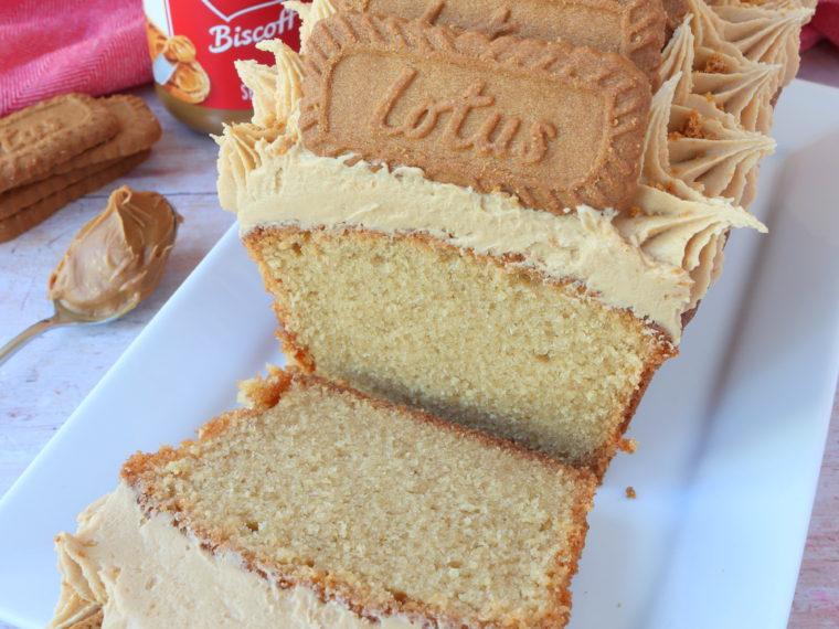 Biscoff Loaf Cake