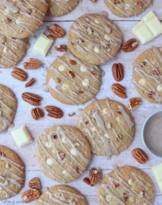 White Chocolate & Pecan Spiced Cookies