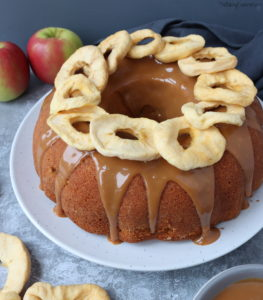 Spiced Caramel Apple Bundt Cake