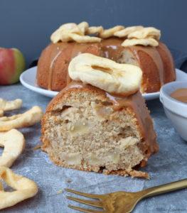 Spiced Caramel Apple Bundt Cake