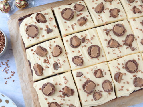 Baileys Chocolate Traybake