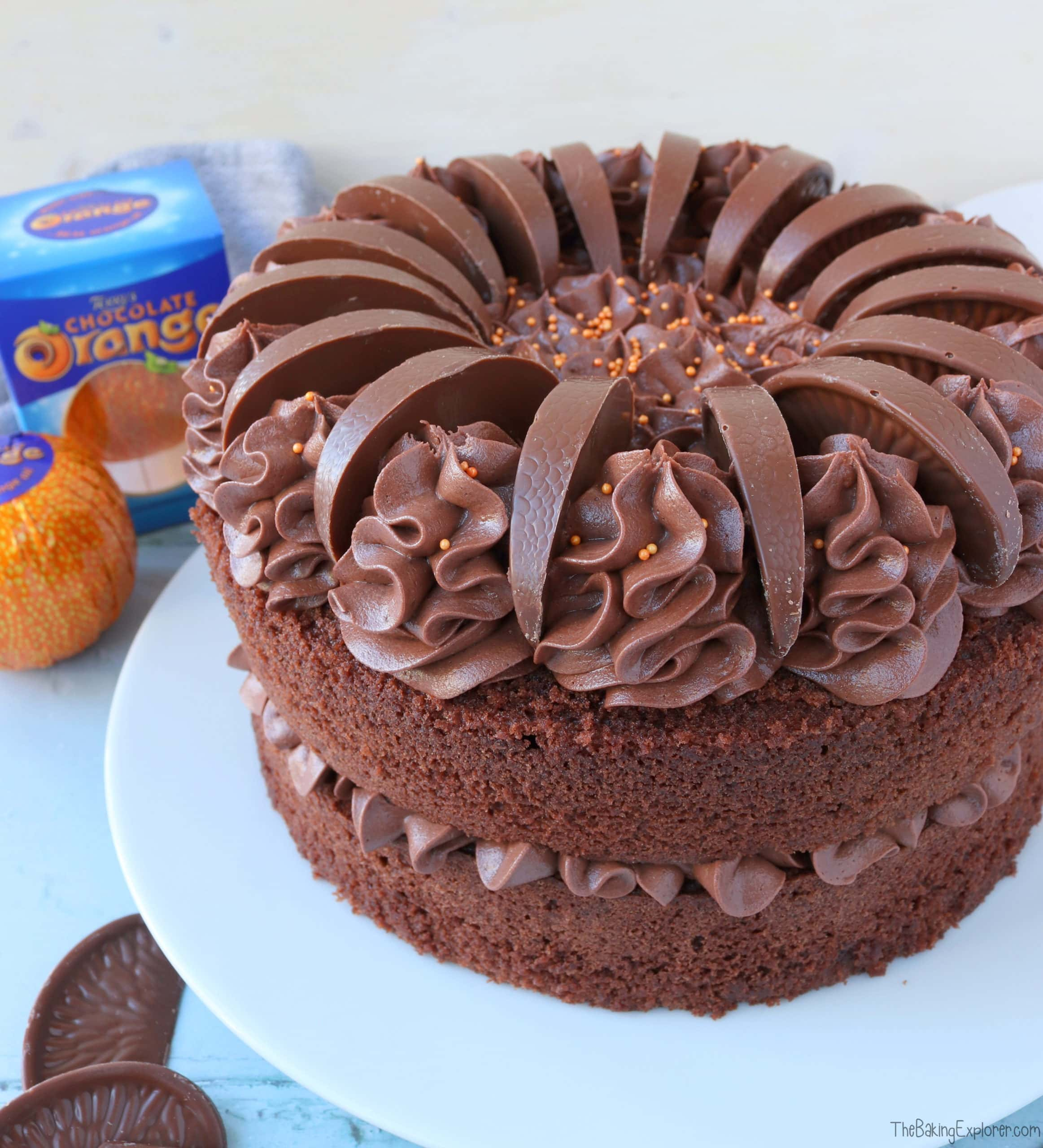 Chocolate Orange Cake The Baking Explorer