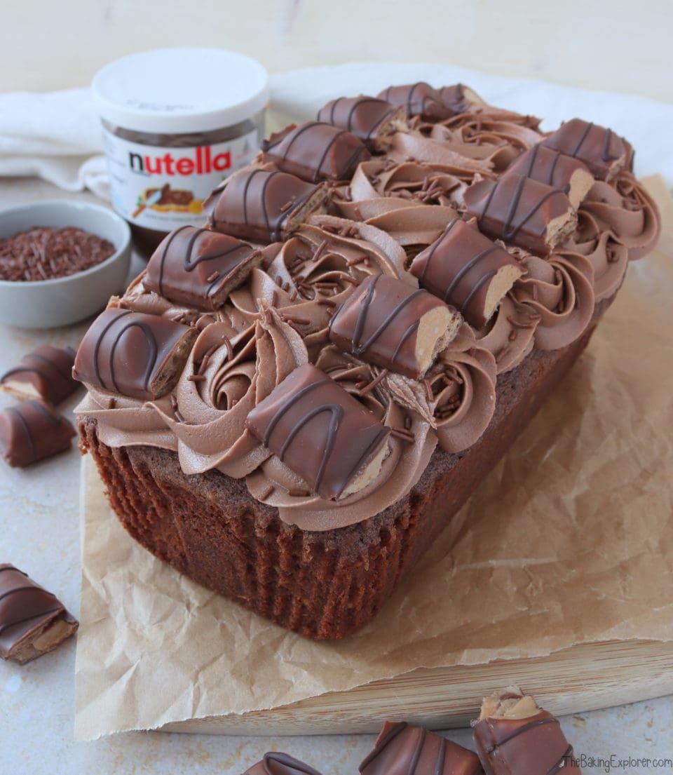 Nutella Bueno Loaf Cake