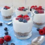 Healthy Cheesecake Pots