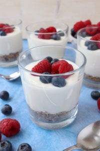 Healthy Cheesecake Pots
