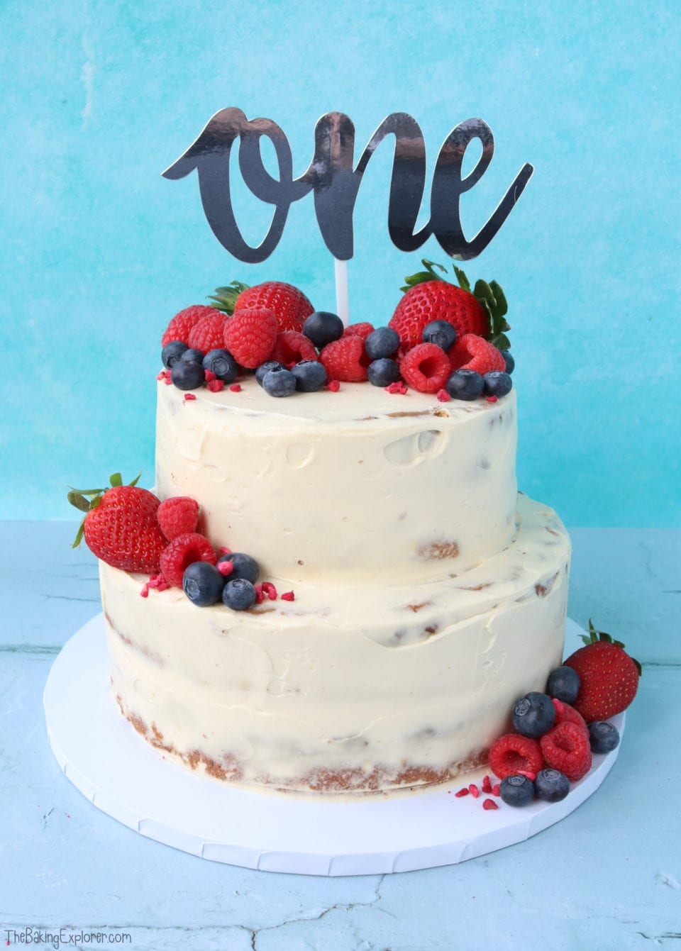 Baby S 1st Birthday Cake Healthy Refined Sugar Free The