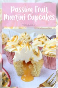Passion Fruit Martini Cupcakes