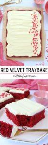 Red Velvet Traybake