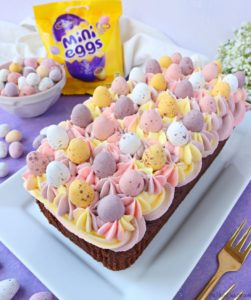 Mini Egg Chocolate Loaf Cake