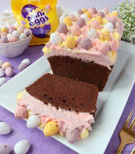 Mini Egg Chocolate Loaf Cake
