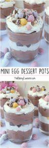 Mini Egg Dessert Pots