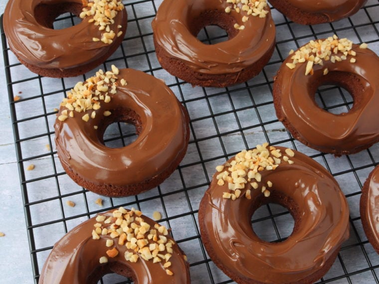 Nutella Baked Donuts