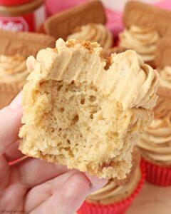 Vegan Biscoff Cupcakes