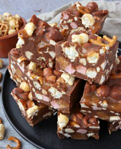 Salted Caramel Rocky Road
