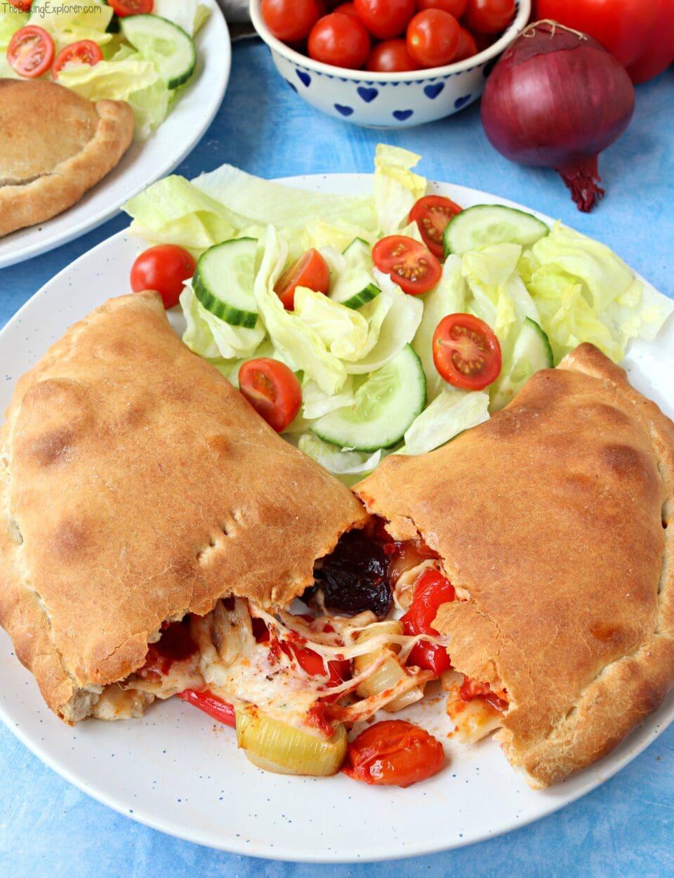 Vegetarian Calzones