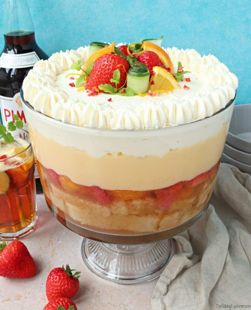 Pimms Trifle