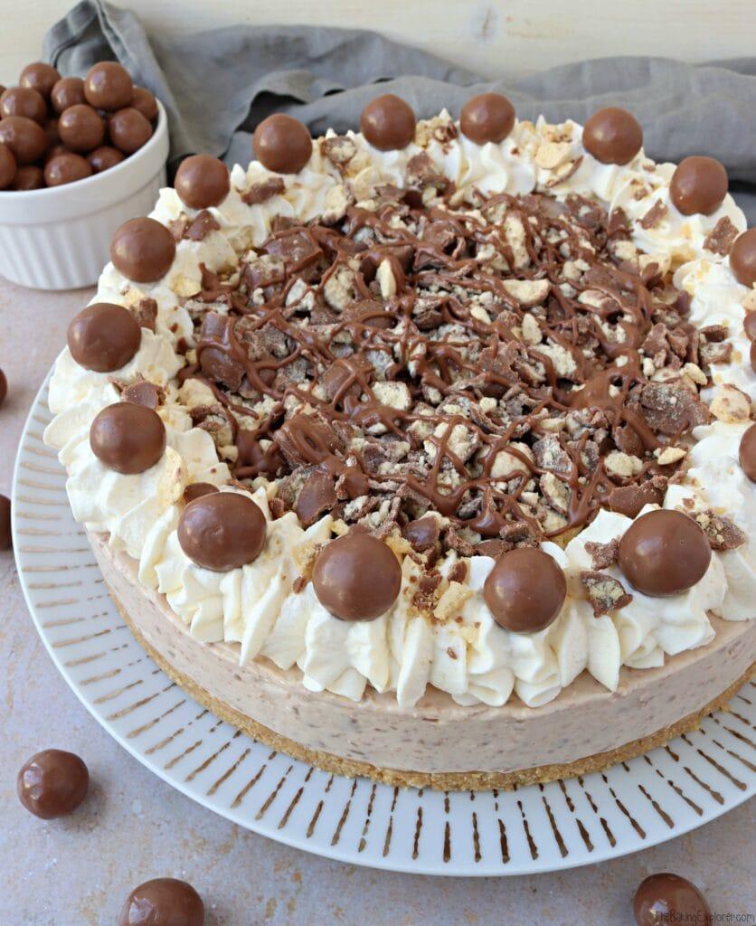 No Bake Maltesers Cheesecake