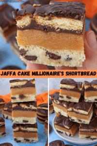 Jaffa Cake Millionaire's Shortbread