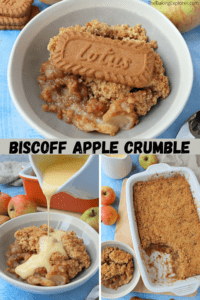 Biscoff Apple Crumble