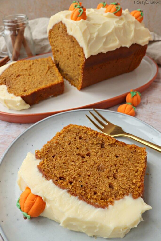 Pumpkin Loaf Cake