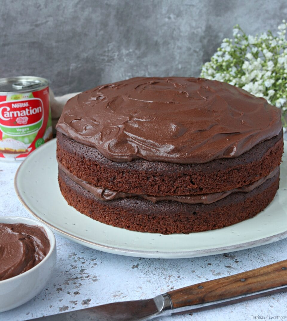 Vegan Chocolate Fudge Cake The Baking Explorer