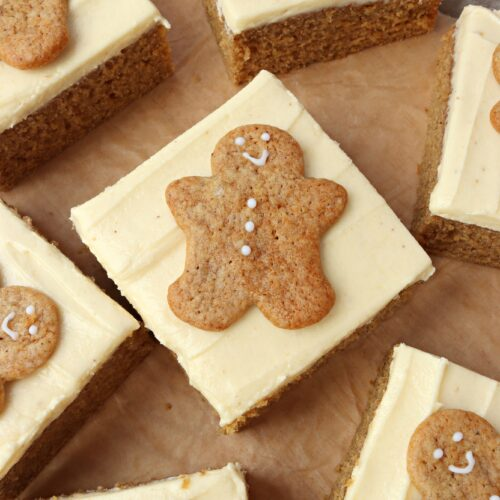 Gingerbread Traybake