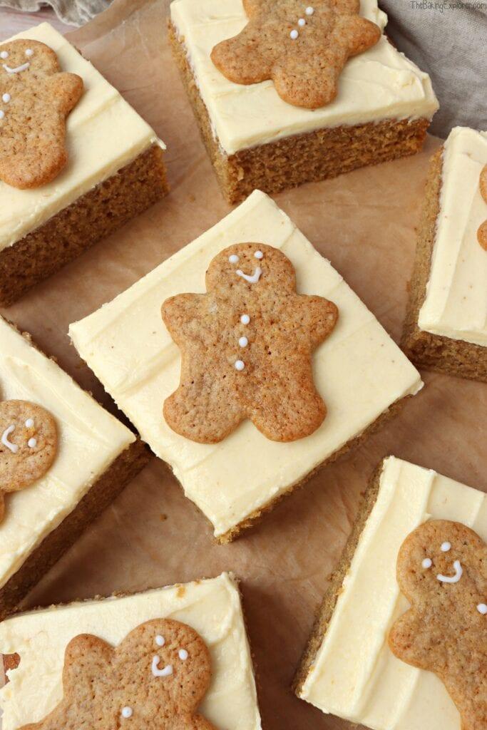 Gingerbread Traybake