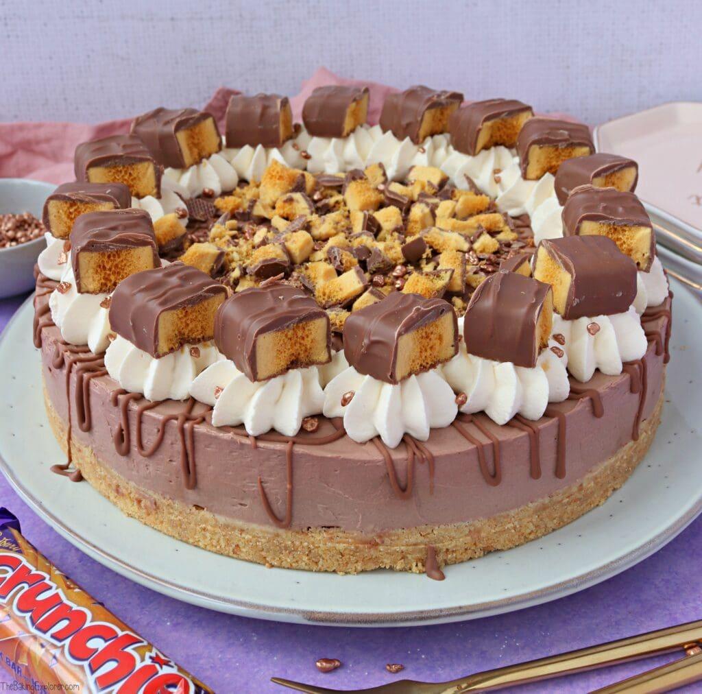 Crunchie Cheesecake