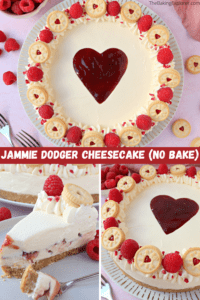 Jammie Dodger Cheesecake