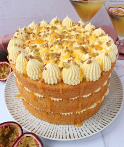 Passion Fruit Martini Cake
