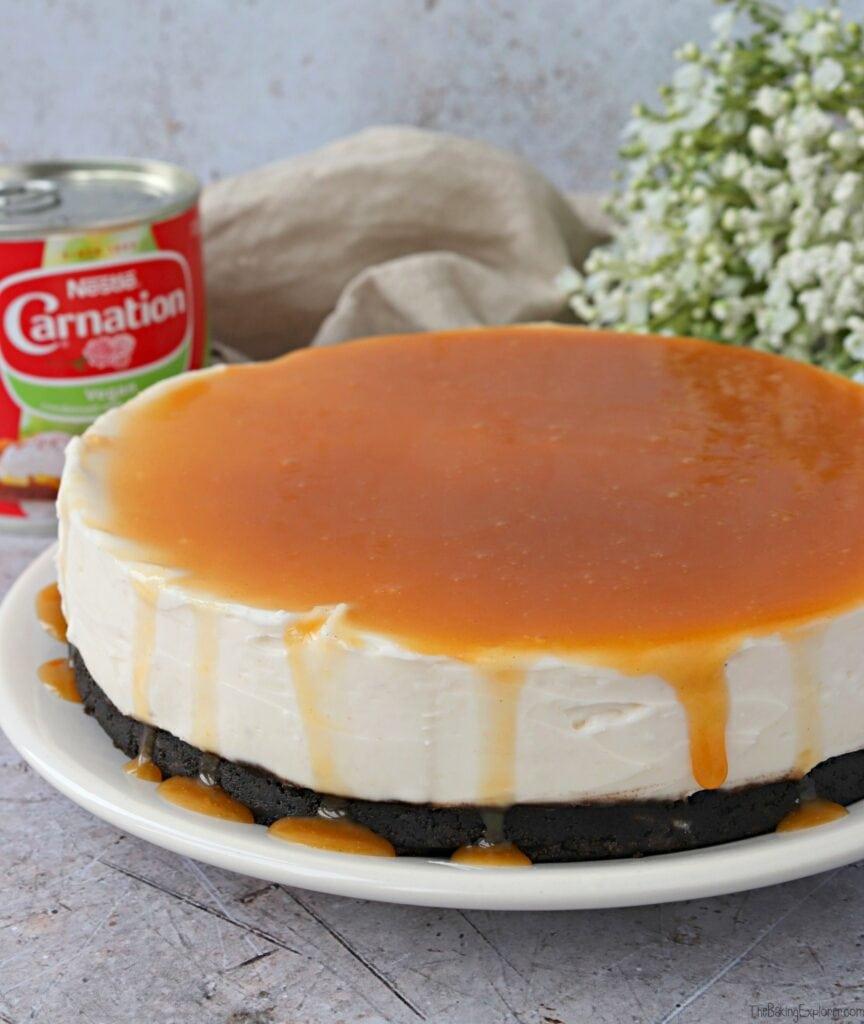 Vegan Vanilla Cheesecake