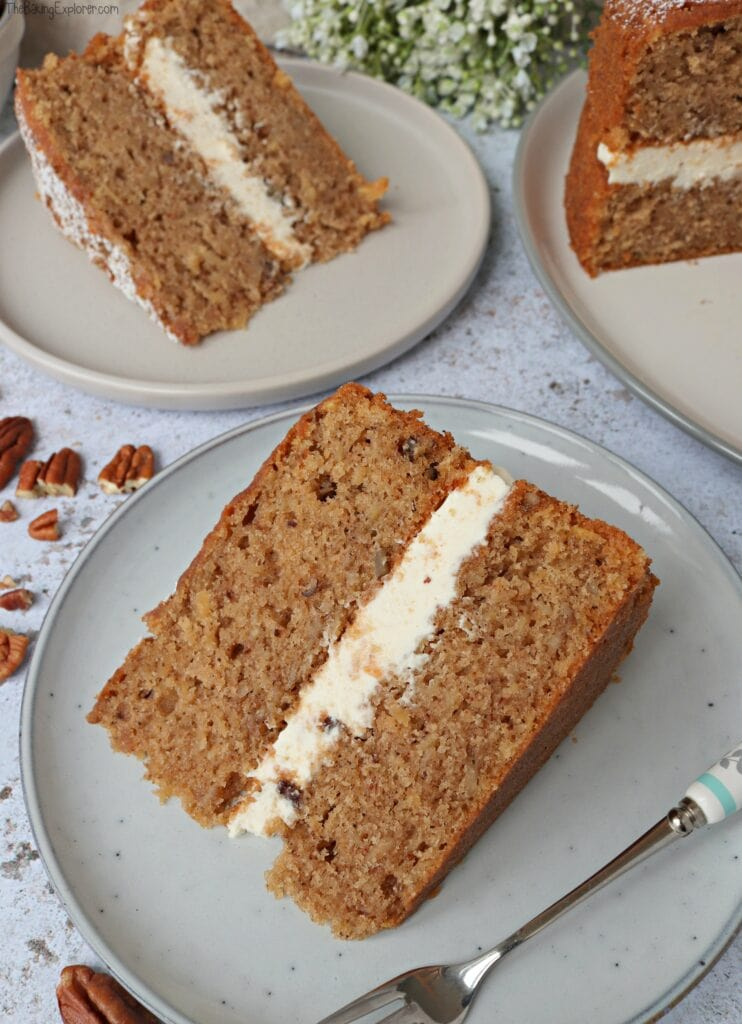 Parsnip & Maple Syrup Cake