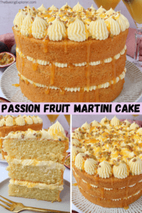 Passion Fruit Martini Cake
