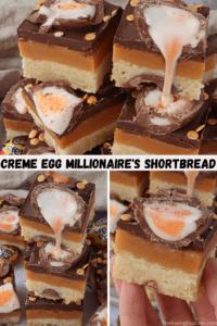 Creme Egg Millionaire's Shortbread