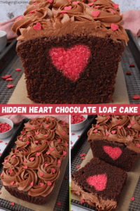 Hidden Heart Chocolate Loaf Cake