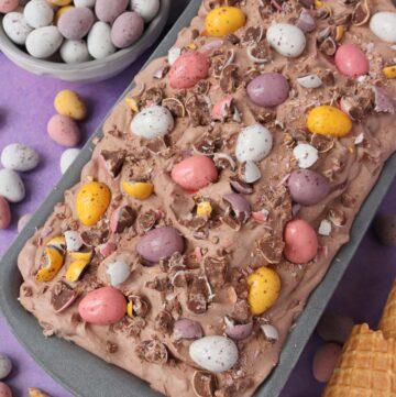 Mini Egg Ice Cream