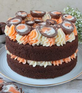 Creme Egg Chocolate Cake
