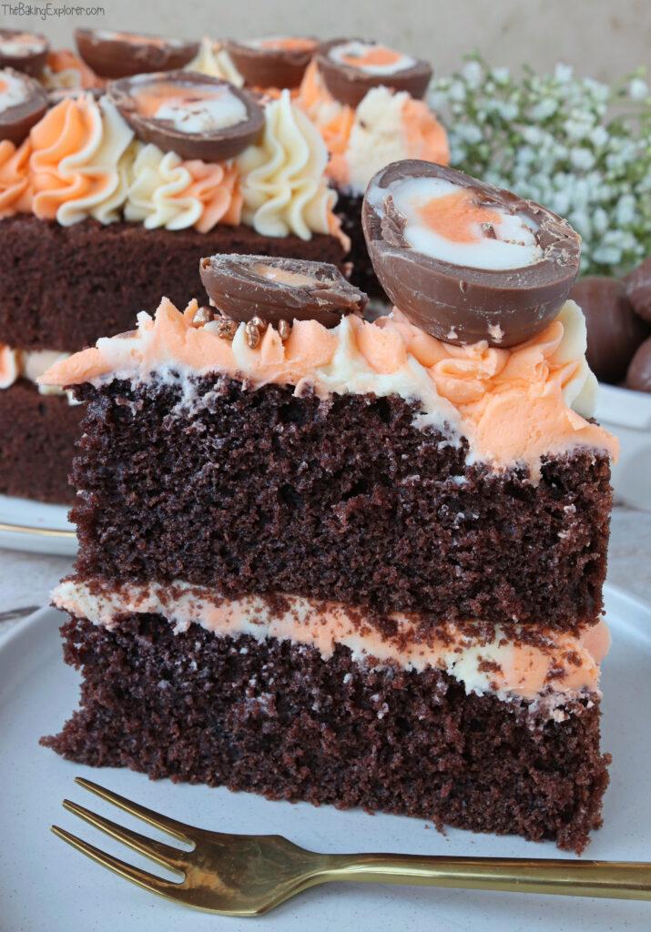 Creme Egg Chocolate Cake