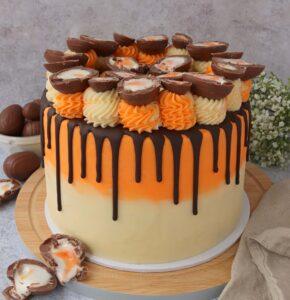 Creme Egg Drip Cake