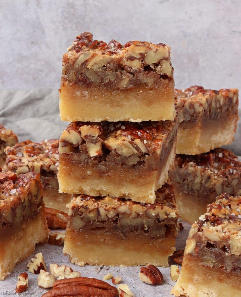 Maple Pecan Pie Bars