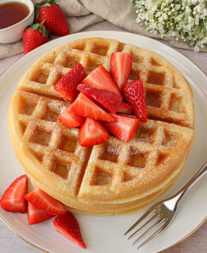 Homemade Sweet Waffles