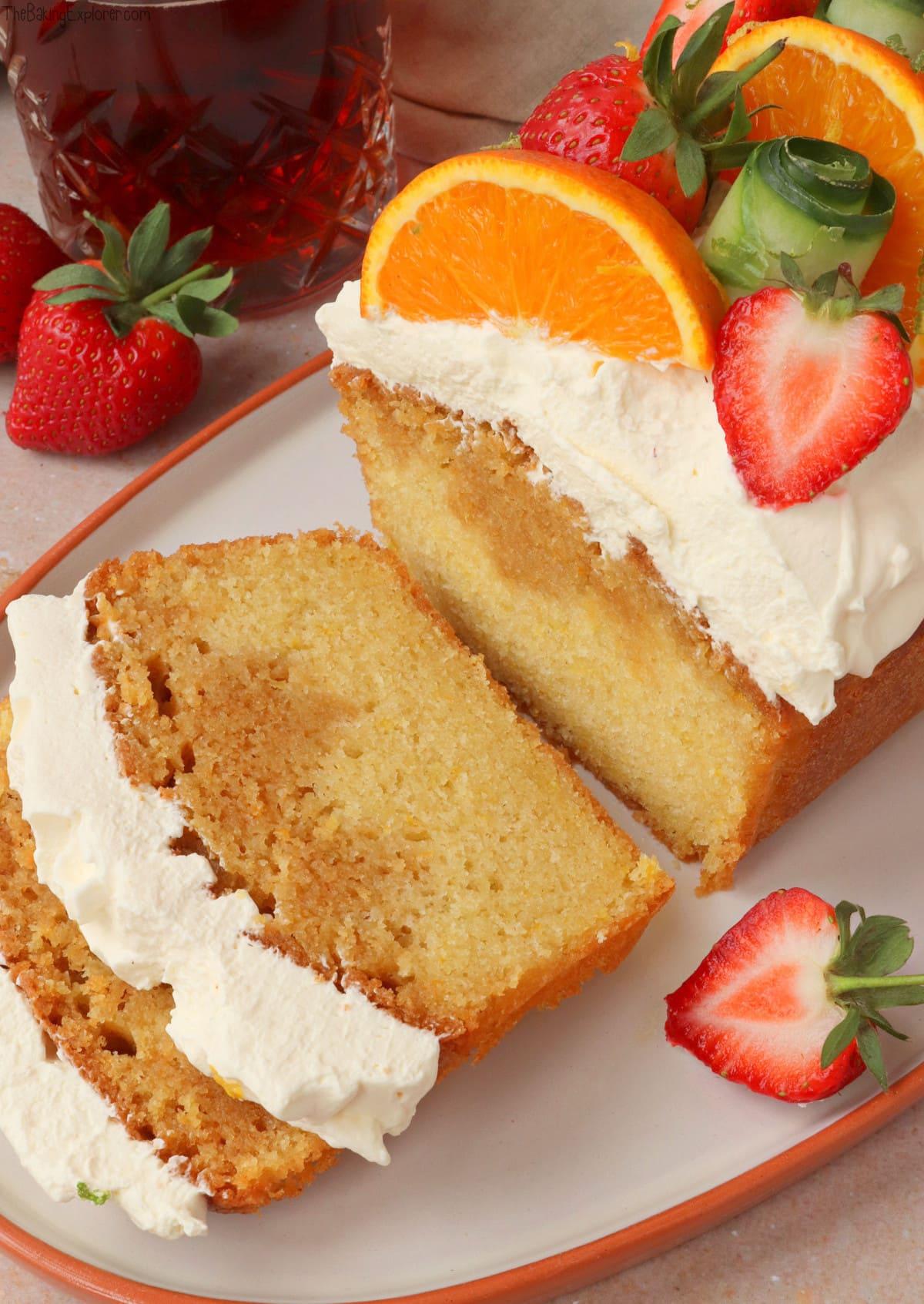 Pimms Loaf Cake