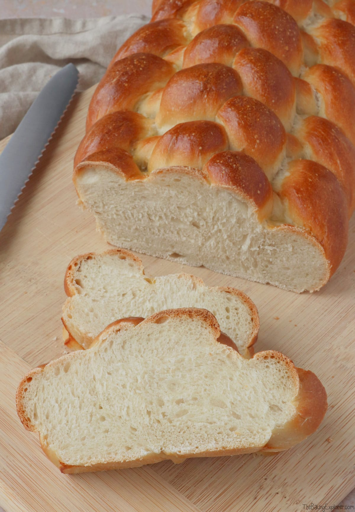 Eight Strand Plaited Loaf