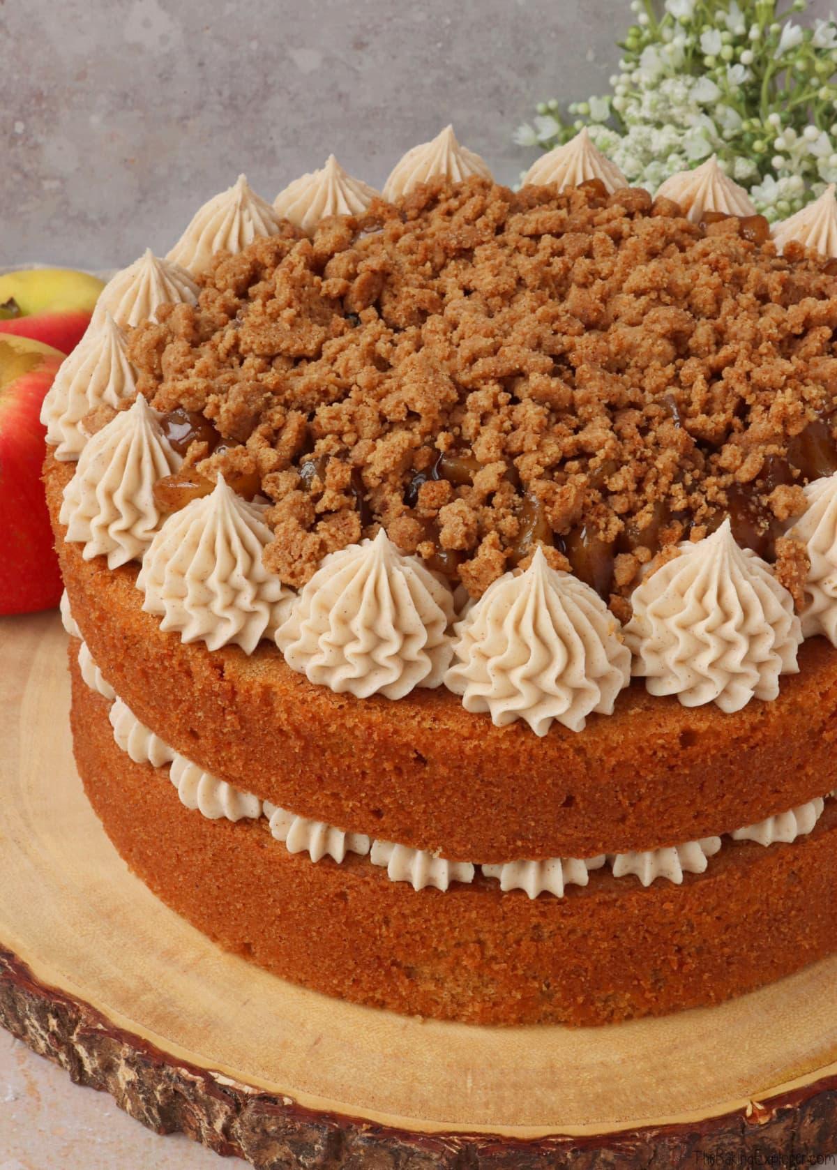 Apple Crumble Cake
